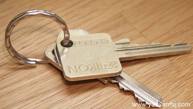 接受免费的钥匙圈会危及生命?